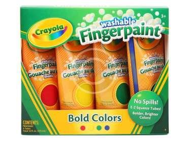 Washable Fingerpaint